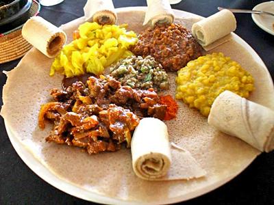 不思議で美味しいエチオピア料理【エチオピアン・ラブ】