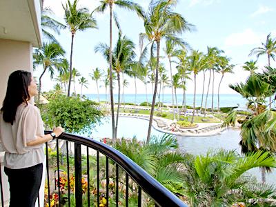 ハワイ島ヒルトンの新ゲストルームがすごい