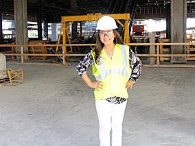 完成間近のエヴァウイング工事現場に潜入【アラモアナセンター】