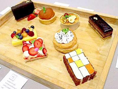 アートなデザートが魅力のNew美術館カフェ【アーティゼン Artizen】