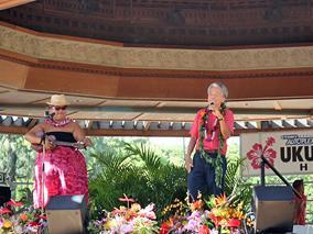 ウクレレフェスティバルでハワイの夏を満喫