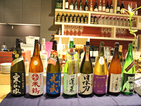 利き酒イベントで貴重な日本酒を堪能