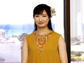 「海すずめ」女優・武田梨奈さんのハワイ