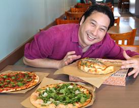 グアバ入りの生地がモチッ!型破りの新ピザ