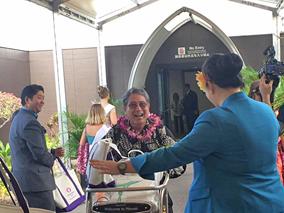 羽田からハワイ島コナの直行便が本日到着!