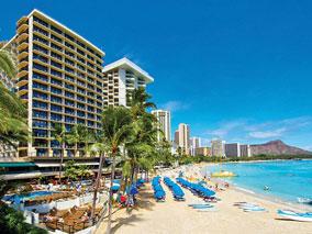 マイルでハワイの人気ホテルに泊まろう!