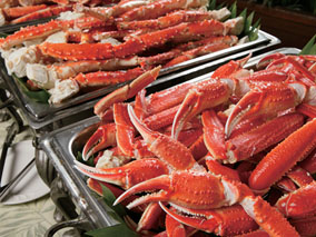イースターは海中世界で海鮮ざんまい