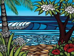 ハワイの海を描く人気アーティストが集結