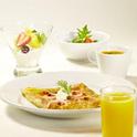 アランチーノのイタリアン・クレープ朝食