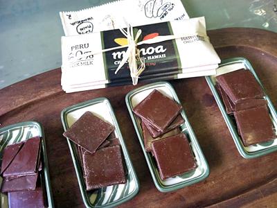 ハワイ生まれの小さなチョコレート工房