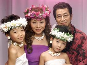 クリスマス&年賀状はハワイの変身写真で