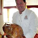感謝祭の特別ディナーをハワイの海上で