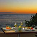 絶景レストランでロマンチックディナーを