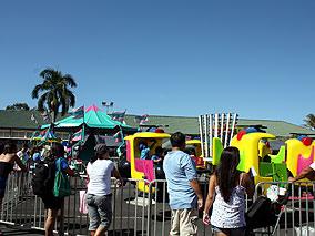 カメハメハスクールの学園祭でハワイを満喫