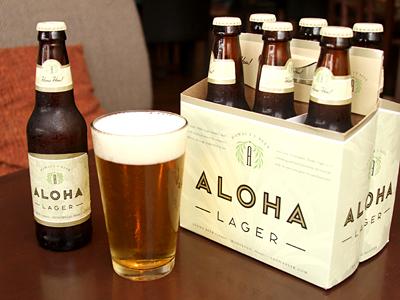噂の地ビールがアロハテーブルに登場