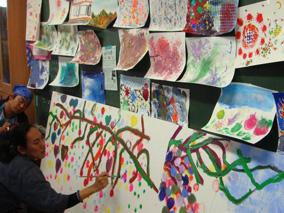 浅井力也さんの絵画展高知県とNYで開催