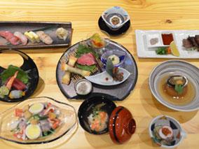 話題の日本料理店で今だけの旬な食事を