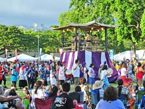 夏到来! ハワイ各地で盆踊り