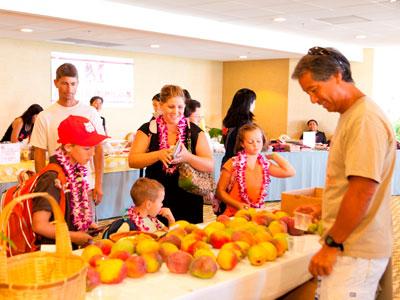南国のマンゴーたっぷりの特別イベント