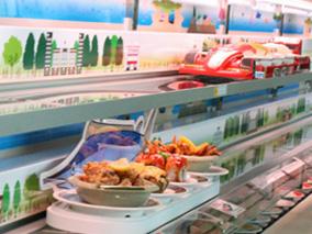 元気寿司が全米初の新システムを導入