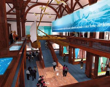 ビショップ博物館の新ホールがついに完成