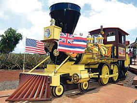リニューアルしたパイナップル列車に乗ろう