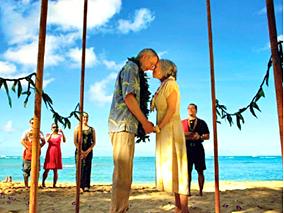 バレンタインはワイキキビーチで愛を誓おう