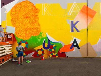カカアコで年に一度のアートイベント開催