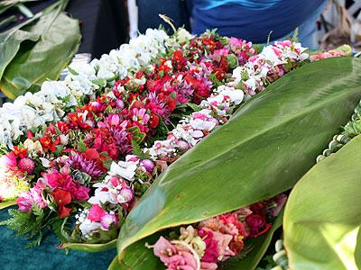 ハワイ情緒漂うカメハメハスクールの学園祭