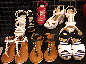 夏のおしゃれは足元から!人気靴店に新作登場