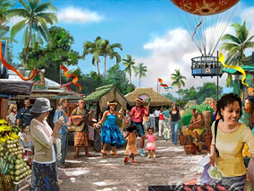 ポリネシア文化センターが新施設を計画