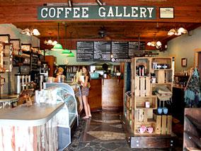 ノースショアの和みカフェでコーヒータイム