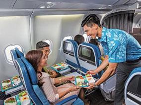 ハワイへの空の旅が快適になる新シート登場