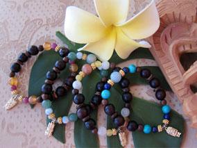 ハワイの神々のパワーを感じるブレスレット