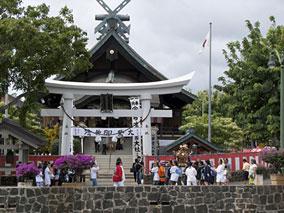 ハワイ出雲大社で日本のお祭りを体験
