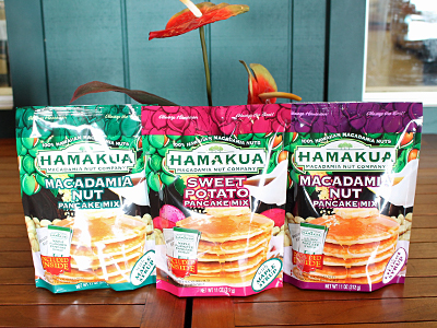 ハワイ産ナッツが美味しいパンケーキ発売