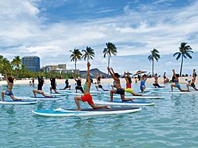 アジア最大級のヨガフェスタがハワイに上陸