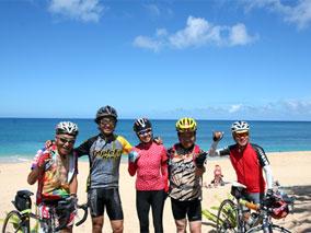 サイクリングツアーでオアフ島を巡ろう