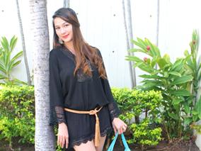 ハワイ発ブランドのドレスで初夏を先取り