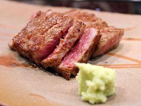 極上和牛の鉄板焼きレストランに新メニュー