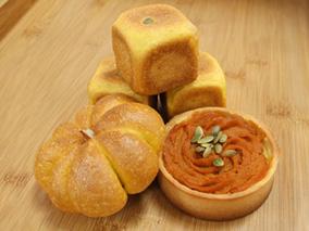 10月だけ!かぼちゃを使った限定パンが登場