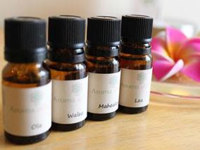 ハワイの香りで癒すアロマオイル販売開始