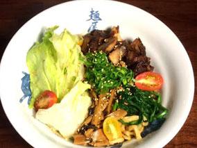 野菜たっぷり!麺屋武蔵の限定まぜ麺