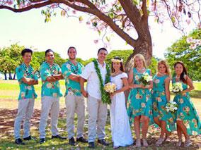 ハワイ挙式の救世主!お得なレンタルウエア