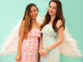 コーラルカラーの春色ドレスが続々登場