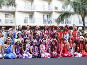 今年もフラと美のコラボイベントを開催