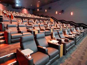 ハワイ島のゴージャス映画館で映画鑑賞