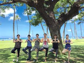 ハワイで心と体がよろこぶ英語&ヨガ留学