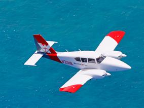 遊覧飛行で空中での感動体験を堪能