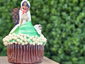 キュート&スイートなモアナのケーキ